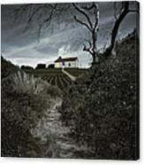 Moonlight Farm Canvas Print