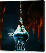 Moonlight Minaret Canvas Print