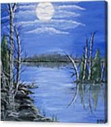 Moonlight Mist Canvas Print
