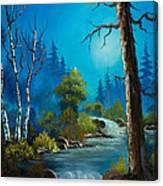 Moonlight Stream Canvas Print