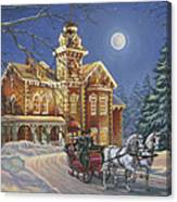Moonlight Travelers Canvas Print