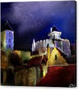 Moonlit Fort Canvas Print