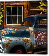Moonshine Express Canvas Print