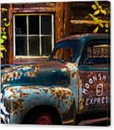 Moonshine Express Canvas Print
