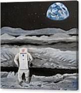 Moonwalker Canvas Print