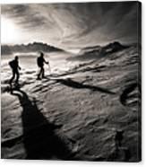 Moonwalkers Canvas Print