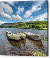 Moored Boats  Canvas Print