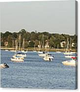 Moored Canvas Print