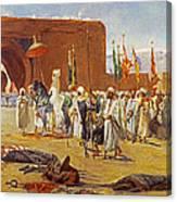 Moorish Procession Canvas Print