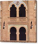 Moorish Windows Madrid Canvas Print