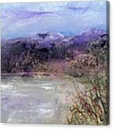 Moorland View 1 Canvas Print