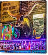 Moose Head Saloon II Canvas Print