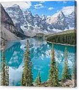 Moraine Lake - Banff National Park - Canada Canvas Print