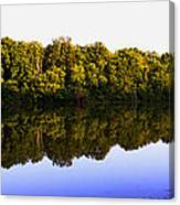 Moraine View State Park Pano 20140718-01 Canvas Print