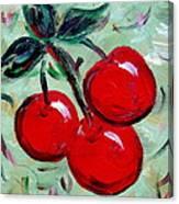 More Cherries Canvas Print