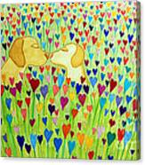 More Puppy Love  Canvas Print