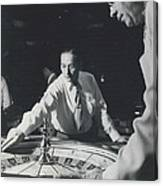 More Roulette Whereas Spin In Las Vegas Than In Monte Carlo Canvas Print