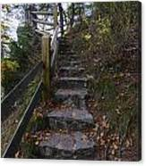 More Stairs Canvas Print