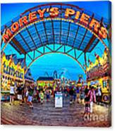 Moreys Piers In Wildwood Canvas Print