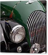 Morgan Plus 4 Grill And Hood Canvas Print
