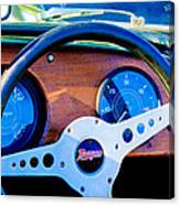 Morgan Steering Wheel Canvas Print