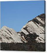 Morman Rocks Canvas Print
