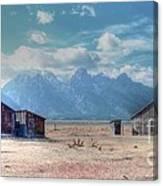 Morman Row Canvas Print