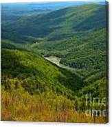 Moormans River Overlook In Spring Canvas Print