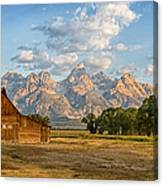 Mormon Row Farm Canvas Print