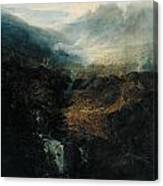 Morning Amongst The Coniston Fells Canvas Print