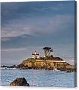 Morning At Battery Point Lighthouse Canvas Print