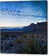 Morning At Red Rock Canvas Print