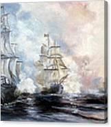 Morning Battle Canvas Print