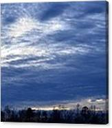 Morning Blue Canvas Print