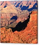 Morning Colors Grand Canyon Canvas Print