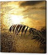 Morning Dew Screen Canvas Print