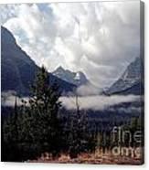 Morning East Glacier Park Canvas Print