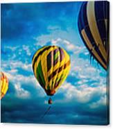 Morning Flight Hot Air Balloons Canvas Print