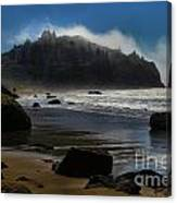 Morning Fog Burn Canvas Print