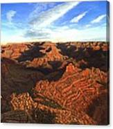 Morning Glory - The Grand Canyon From Kaibab Trail  Canvas Print