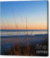 Morning Has Broken At Myrtle Beach South Carolina Canvas Print
