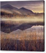 Morning In Adirondacks Canvas Print