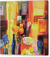 Morning In Paris Canvas Print