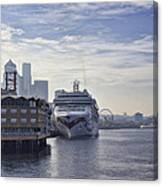 Morning In Seattle Canvas Print
