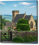 Morning In Snowshill Canvas Print