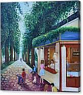 Morning In Tel Aviv Canvas Print