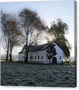 Morning In Whitemarsh - Widener Farms Canvas Print