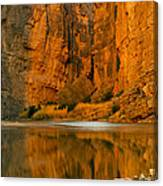 Morning Light In The Canyon Canvas Print