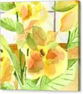 Morning Magnolias Canvas Print