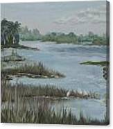 Morning Marsh At Babcock Ranch Canvas Print
